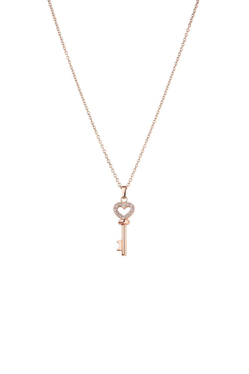KEY NECKLACE ROSÉGOLD