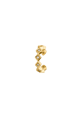 Earcuffs 18k gold plated