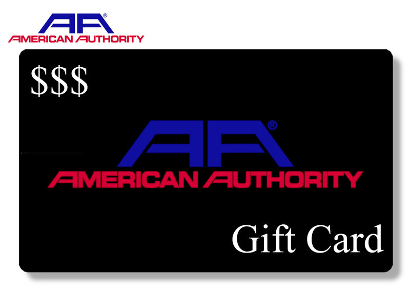 American Authority - Gift Card