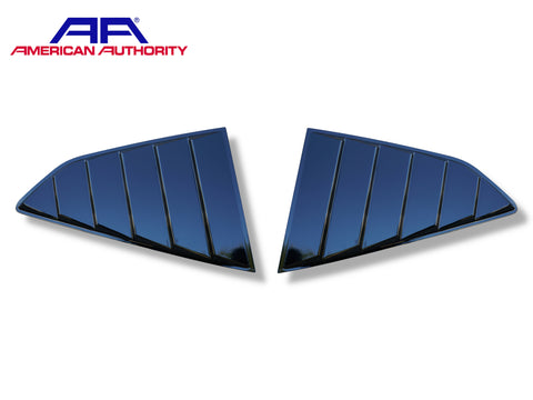 2016-20 Camaro - 1/4 Window Louvers - American Authority