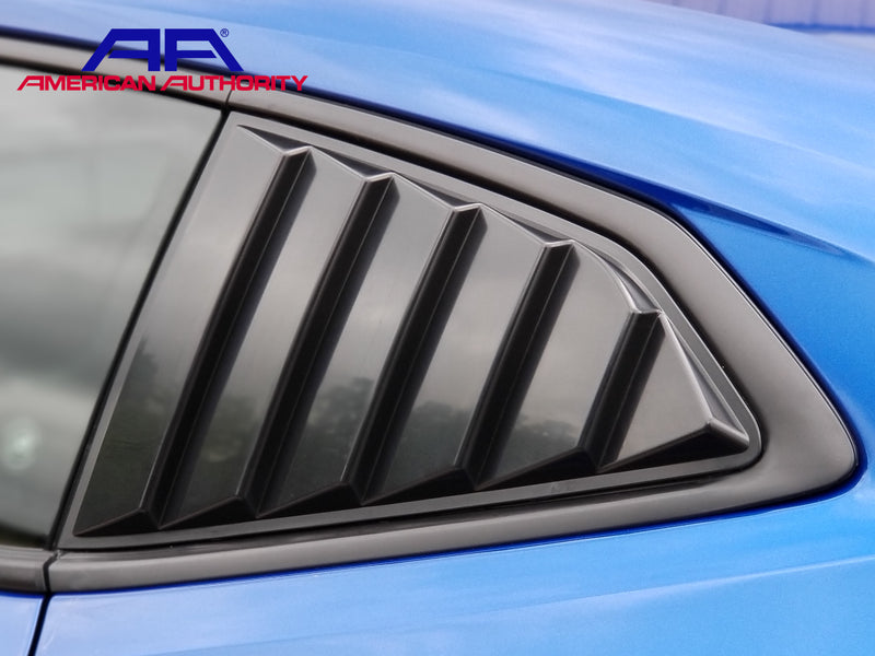 ABS Unpainted 2016 2018 Camaro Side Scoops American Authority