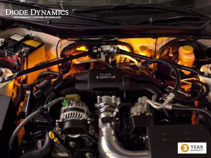 Single Color LED Engine Bay Kit - Diode Dynamics