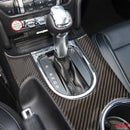 2015-20 Mustang - Center Console Trim Overlay - Carbon Fiber - Dyna Performance