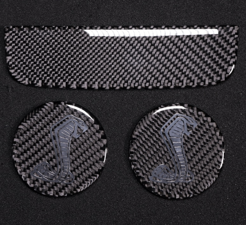 2015-20 Mustang - Coaster Overlay - Carbon Fiber - Dyna Performance
