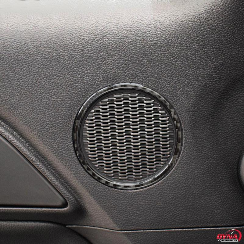 2015-20 Mustang - Speaker Trim Overlay - Carbon Fiber - Dyna Performance