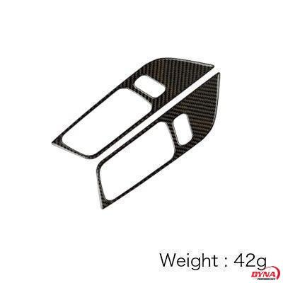 2015-20 Mustang - Door Handle Trim Kit - Carbon Fiber - Dyna Performance