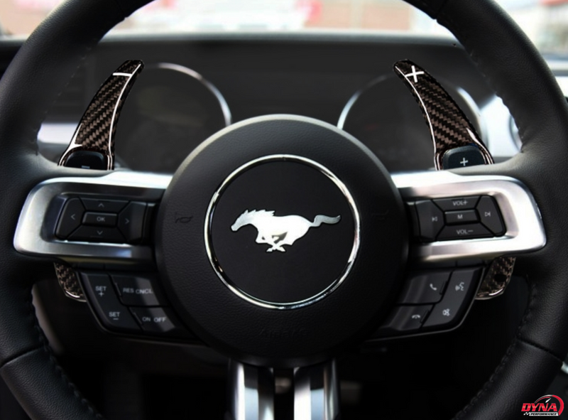 2015-20 Mustang - Paddle Shifters - Carbon Fiber - Dyna Performance