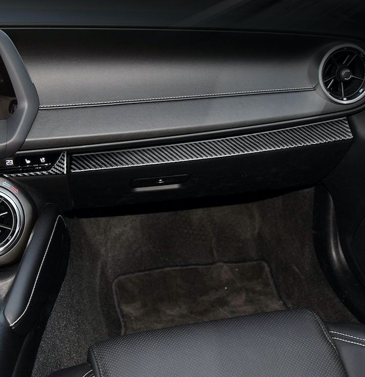 2016-20 Camaro - Lower Dash Trim Overlay - Carbon Fiber - Dyna Performance