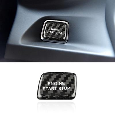 2016-20 Camaro - Start/Stop Button Overlay - Carbon Fiber - Dyna Performance