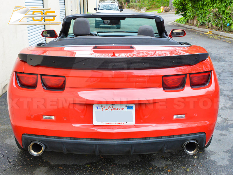 2010-13 Camaro - ZL1 Style Spoiler With Wicker Bill - Carbon Fiber - Extreme Online Store