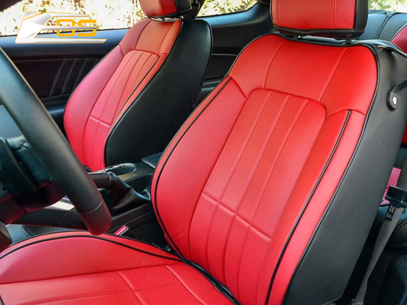 2015-20 Mustang - Seat Covers Front and Rear - Artificial Leather - Extreme Online Store