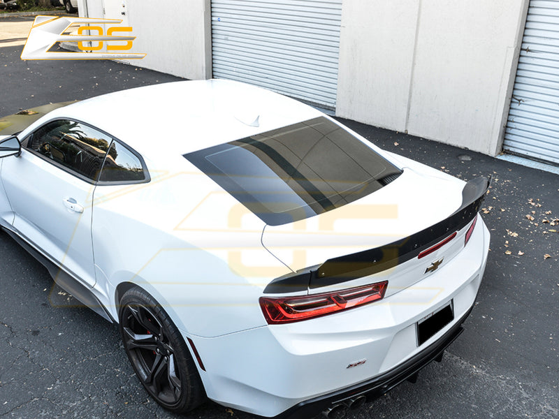 2016-20 Camaro - Extended Spoiler With Wicker Bill - Extreme Online Store
