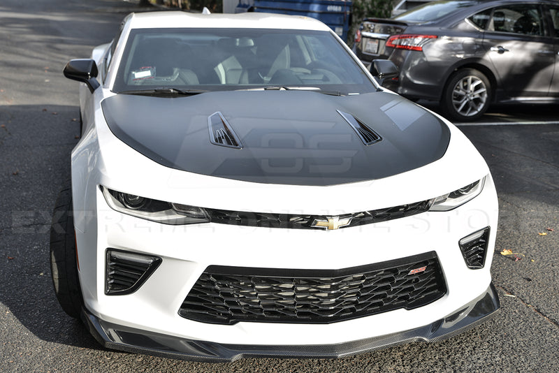 2016-18 Camaro SS - ZL1 Style Front Lip - Carbon Fiber - Extreme Online Store