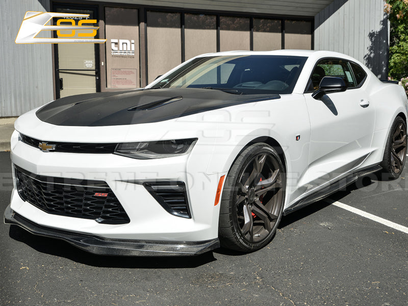 2016-18 Camaro SS - ACS T6 Style Front Lip - Carbon Fiber - Extreme Online Store