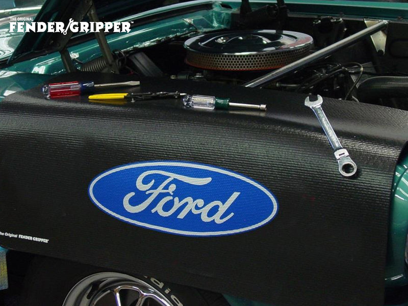 Fender Cover - Ford Oval - Jumbo - Fender Gripper