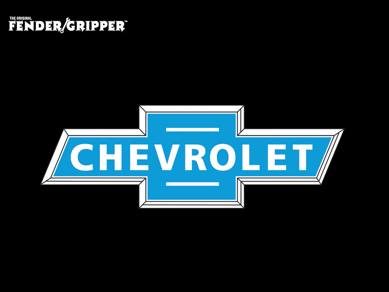 Fender Cover - Chevrolet Bowtie - Jumbo - Fender Gripper