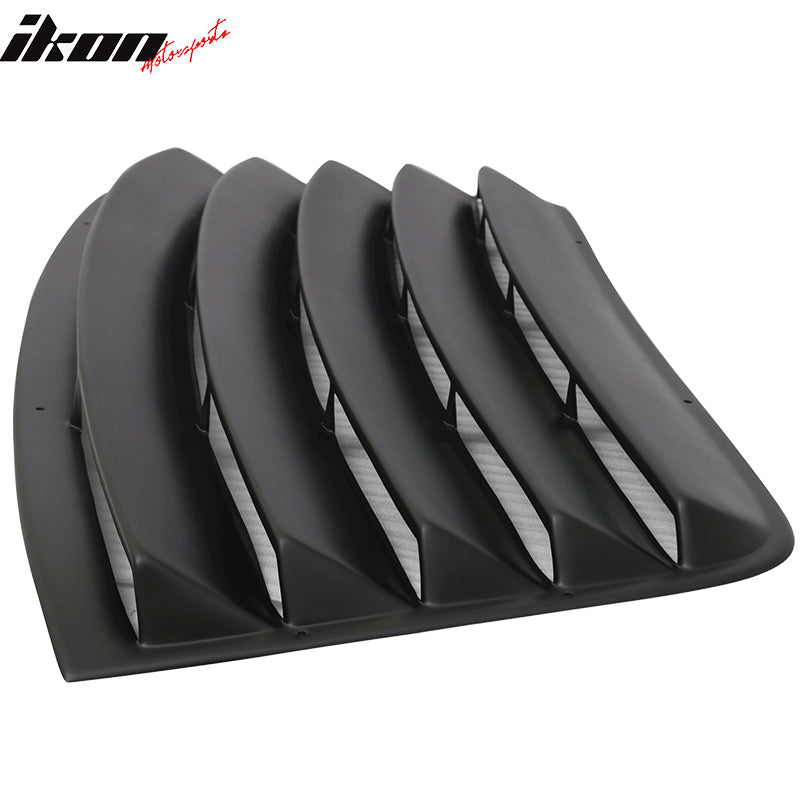 2008-20 Challenger - Rear Window Louver - Ikon Motorsports