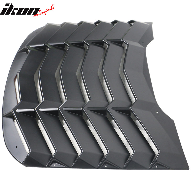 2015-20 Mustang - Rear Window Louver - Ikon Motorsports