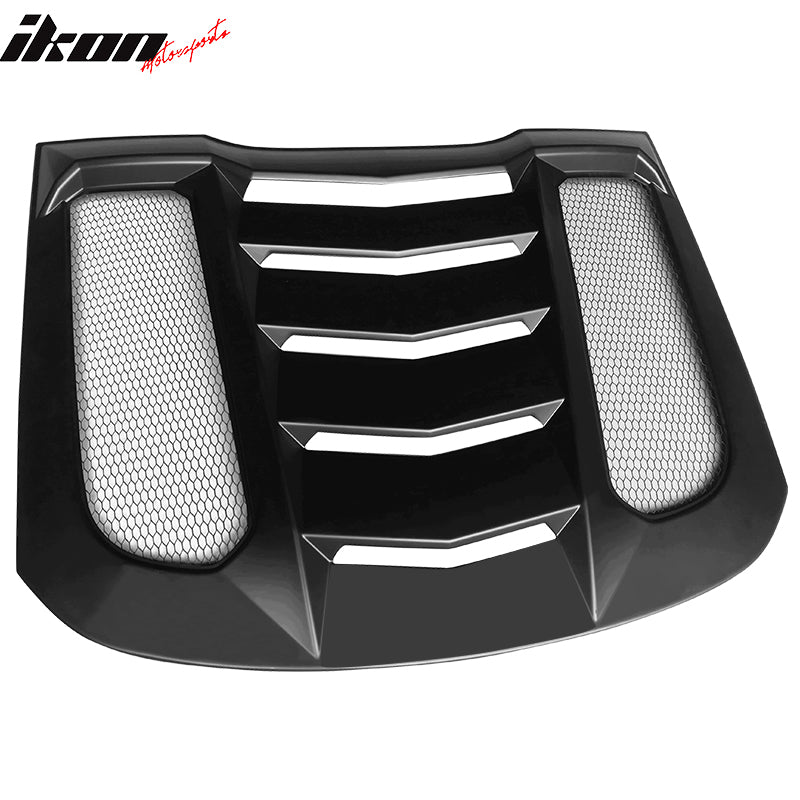 2015-20 Mustang - Rear Window Louver V2 - Ikon Motorsports