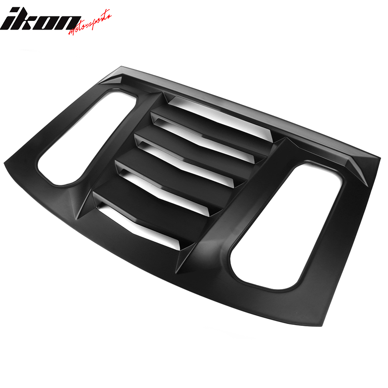 2016-20 Camaro - Rear Window Louver V2 - Ikon Motorsports