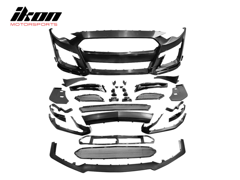 2018-20 Mustang - GT500 Style Front Bumper - Ikon Motorsports