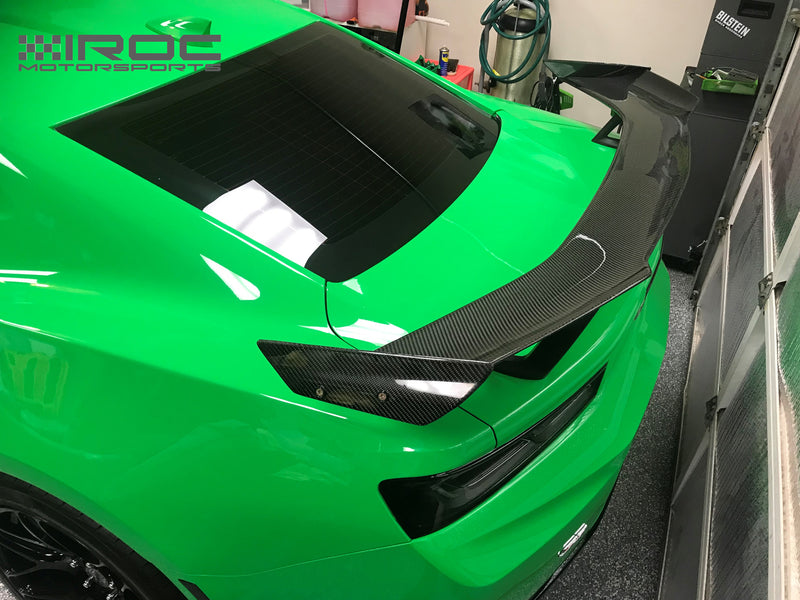 2016-21 Camaro - IROC-Z ZL1 1LE Style Wing Spoiler - Carbon Fiber - IROC Motorsports