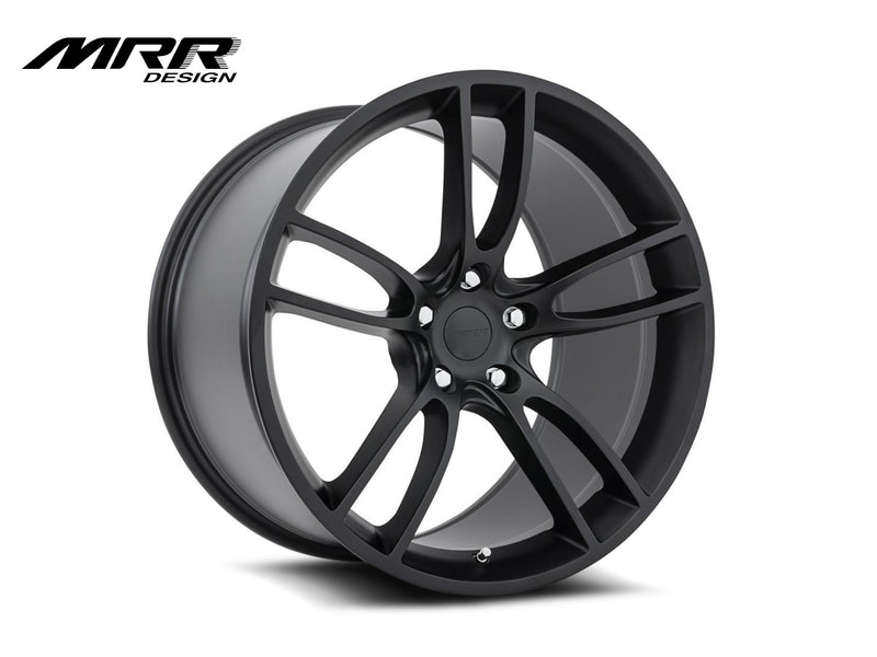 2015-20 Mustang - M600 Wheels - Matte Black - MRR Design