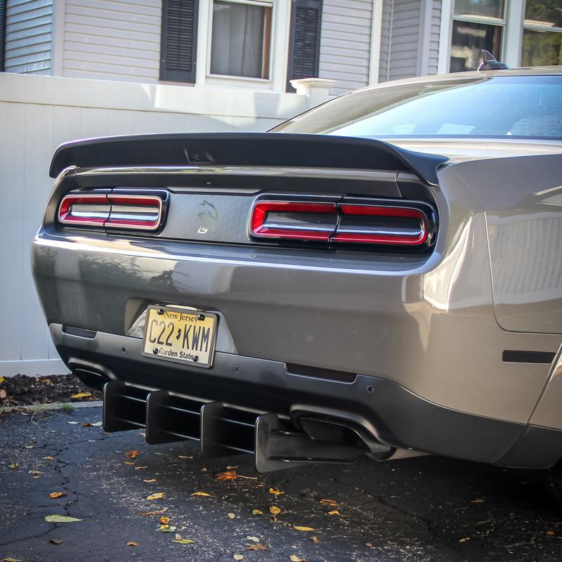 2015-20 Challenger - Deluxe Rear Diffuser - ZL1 Addons