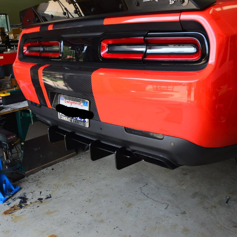 2015-20 Challenger - Rear Diffuser - ZL1 Addons