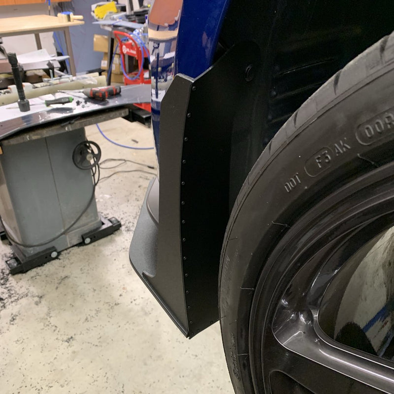 2015-20 Mustang - GT500 Style Fender Extensions - ZL1 Addons