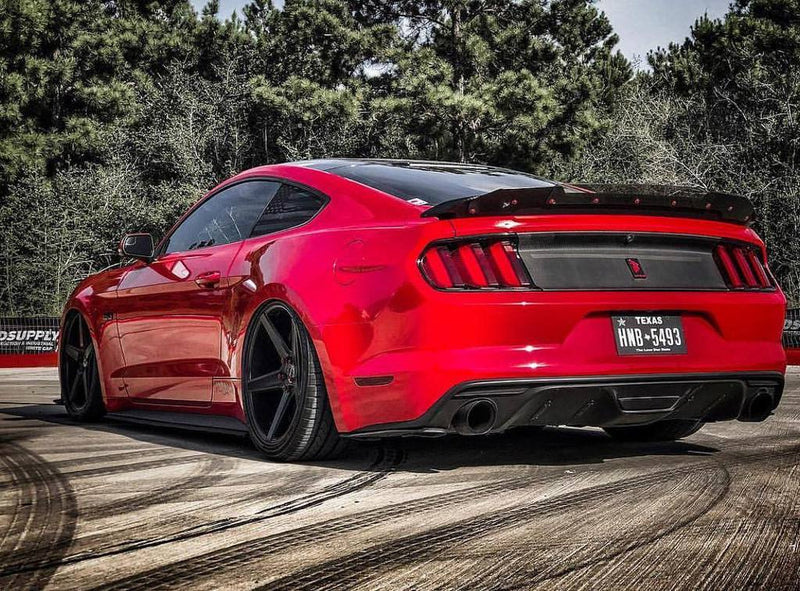 2015-20 Mustang - Track Pack Wicker Bill - ZL1 Addons