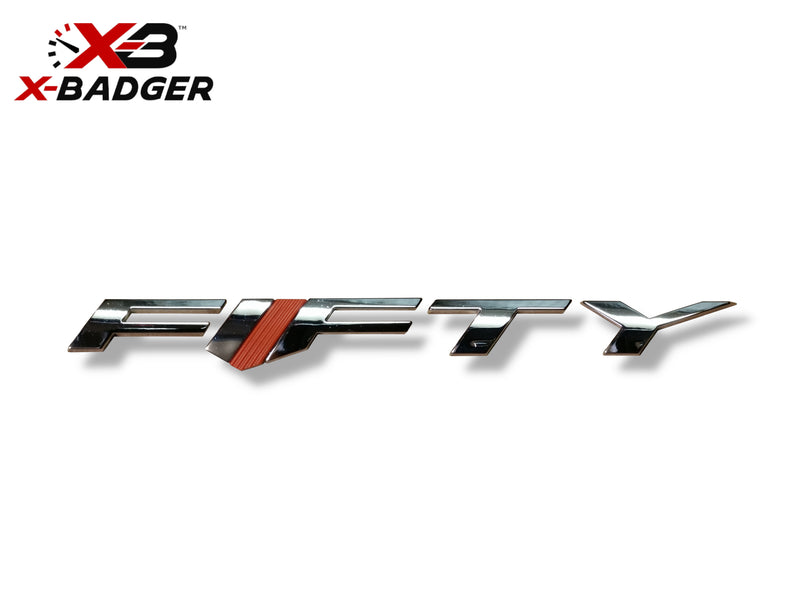 Camaro Fifty Badge - X-Badger