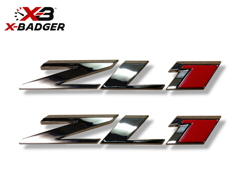 Camaro ZL1 Letters Badge - X-Badger