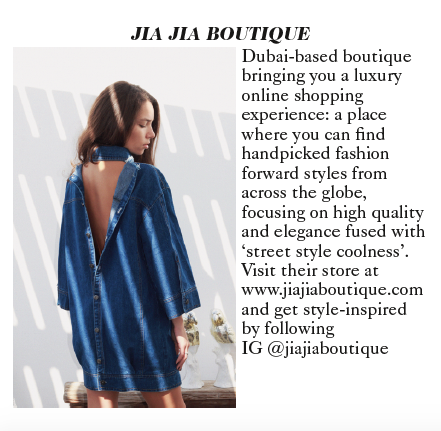 JIA JIA BOUTIQUE NEW IN CACTUS THE BRAND VOGUE
