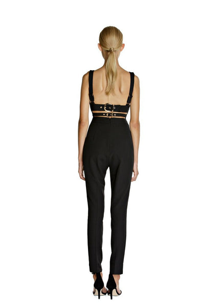 VANNAE 'CIARA' JUMPSUIT - BLACK - jia jia boutique
