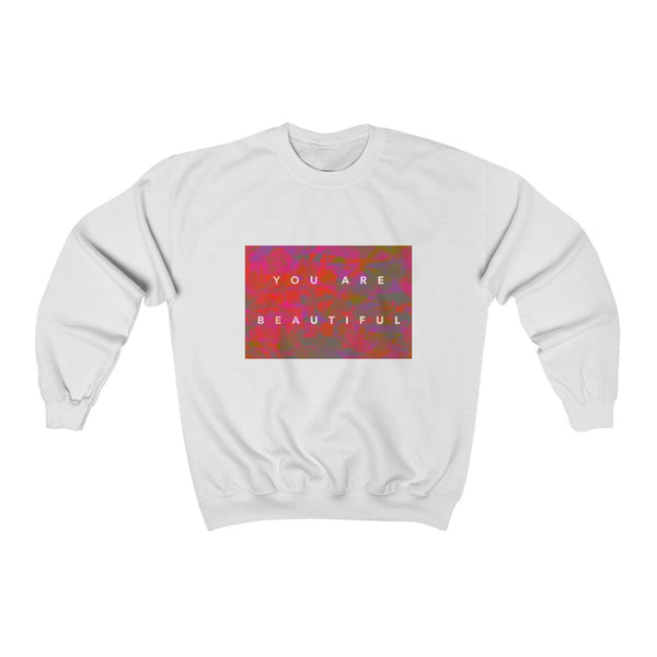 You Are Beautiful | Unisex Heavy Blend™ Crewneck Sweatshirt