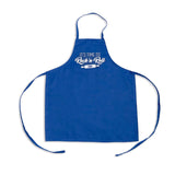 "Satin Ice ""Rock 'N Roll"" Kids Apron • Blue - Satin Ice"
