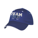 "Satin Ice ""Team Satin Ice"" Baseball Cap • Blue - Satin Ice"