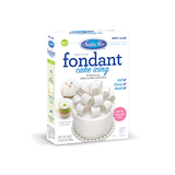 Satin Ice White Vanilla Fondant - 24oz. Box - Satin Ice