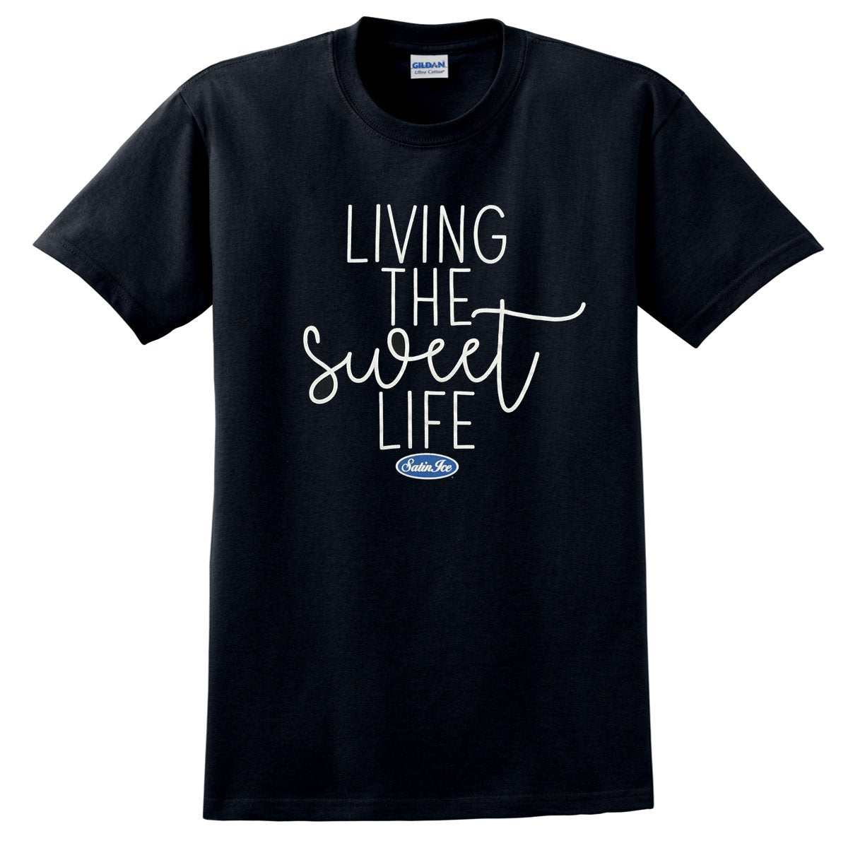 "Satin Ice ""Sweet Life""T-Shirt • Black - Satin Ice"