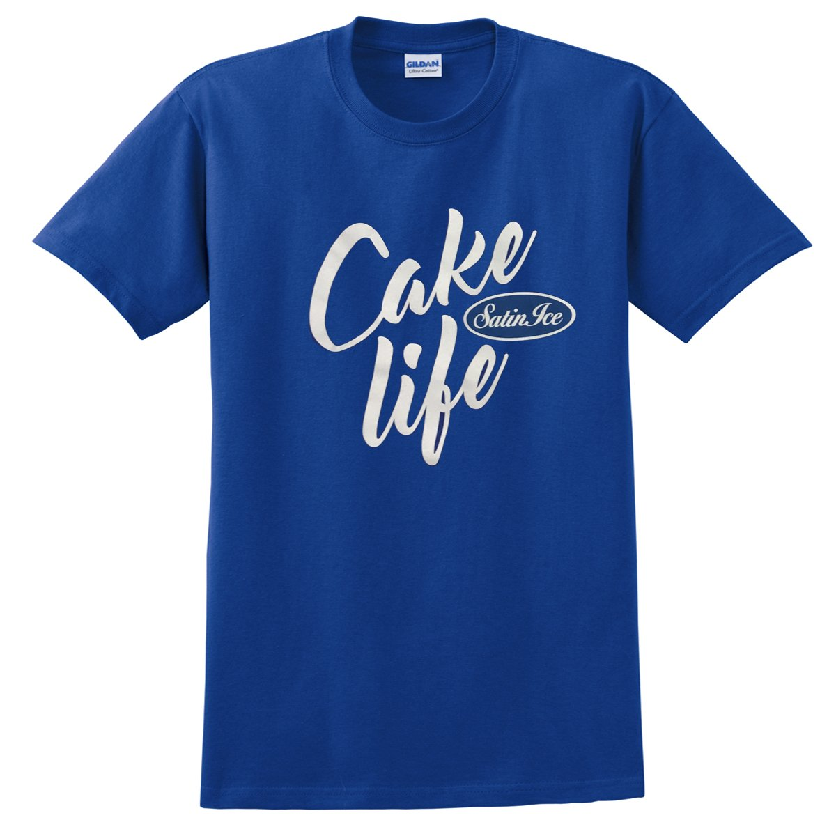"Satin Ice ""Cake Life"" T-Shirt • Blue - Satin Ice"
