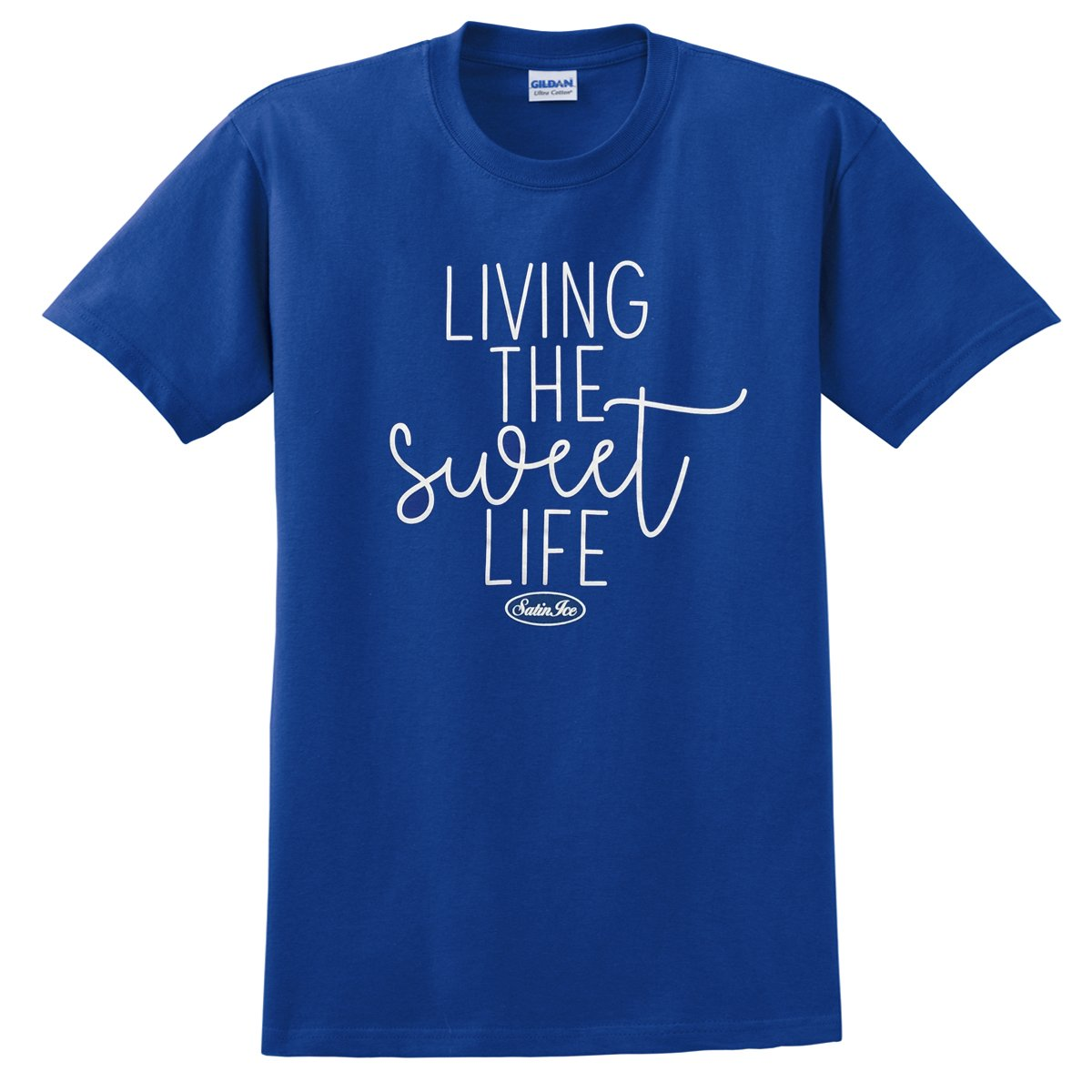 "Satin Ice ""Sweet Life"" T-Shirt • Blue - Satin Ice"
