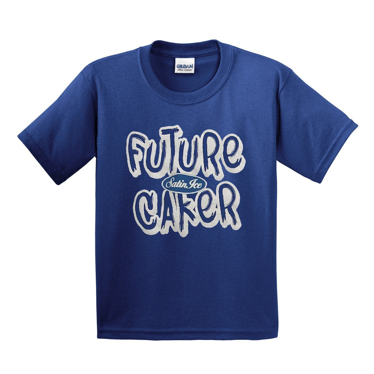 "Satin Ice ""Future Caker"" Kids T-Shirt • Blue - Satin Ice"
