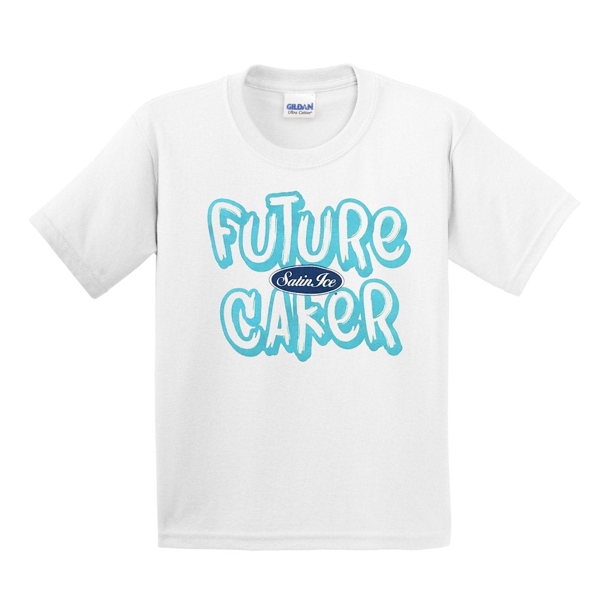 "Satin Ice ""Future Caker""Kids T-Shirt • White - Satin Ice"