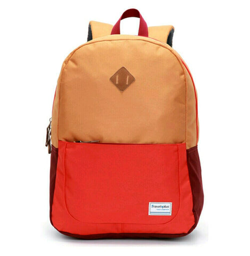 Travel plus orange backpack