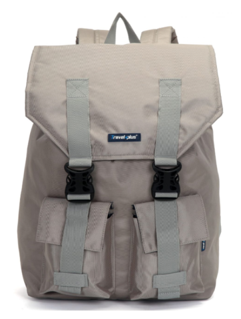 vegan backpack beige
