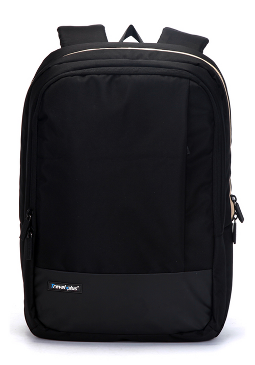 Elegant vegan backpack Black
