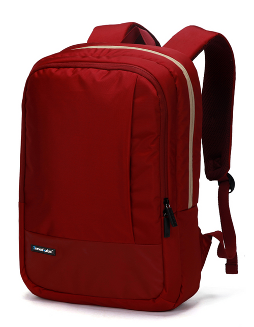 Elegant vegan backpack Red