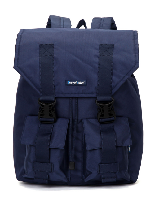 vegan backpack blue