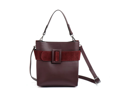 Belt leather bag